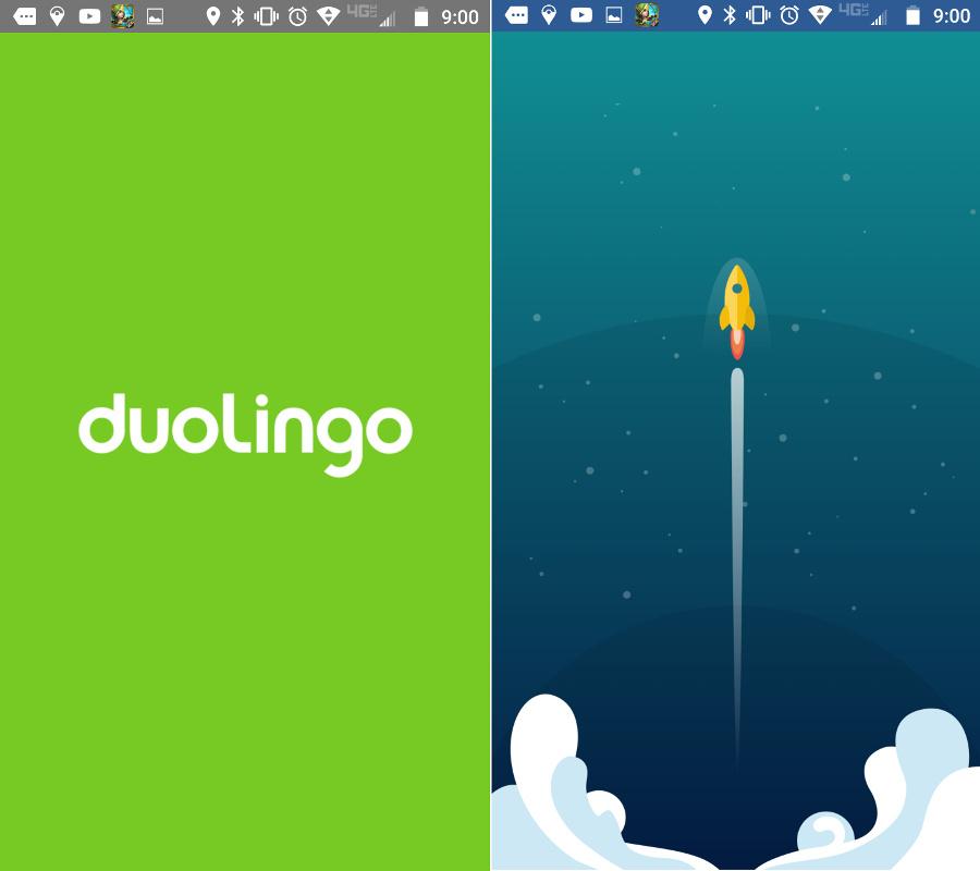 Screenshot of loading screens