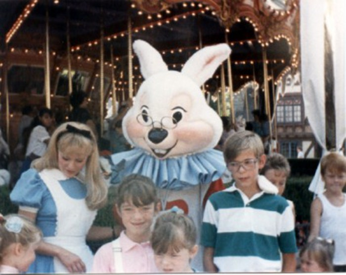 Me at Disneyland sometime in the late 1980's.