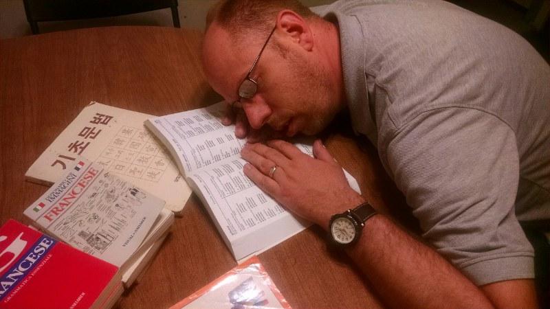 language burnout